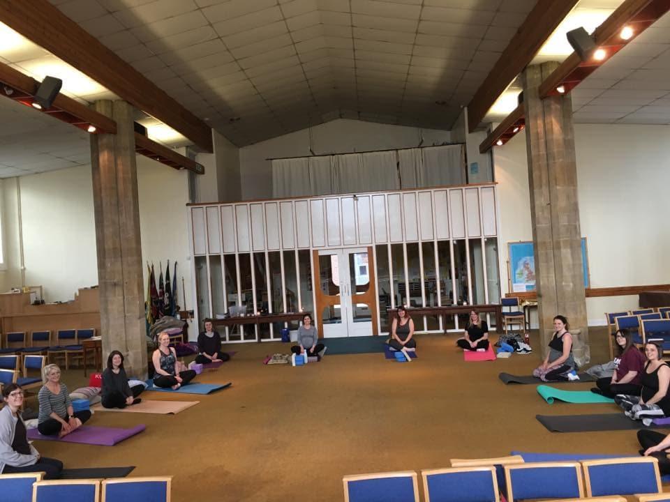 church preg yoga